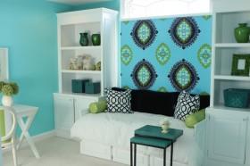 欧式风格小卧室装修效果图大全