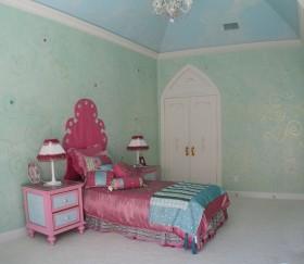 简约风格女生卧室装修效果图