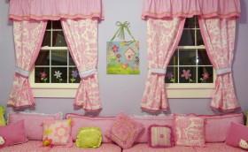 最新儿童房窗帘效果图