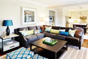 90平米两室两厅客厅装修效果图