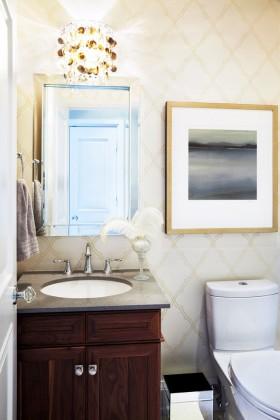 90平米二室二厅卫生间装修效果图