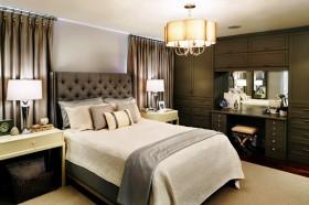 90平两室两厅卧室吊顶简单装修