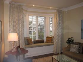 客厅飘窗窗帘装修效果图_1.1