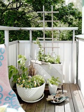 小阳台护栏装修图片