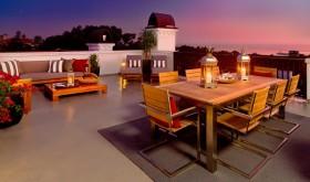 高层阳台餐厅装修图片
