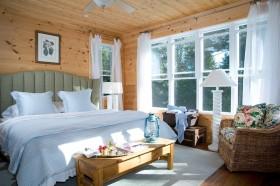 美式实木卧室装修效果图大全