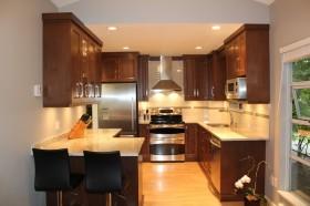 美式厨房装修效果图片