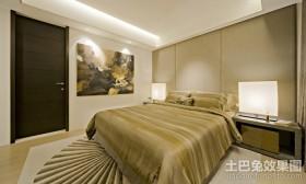 现代简约卧室装修效果图片