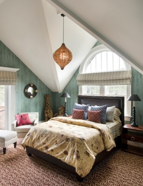 阁楼卧室装修设计效果图