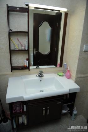 中式简约小户型卫生间装修效果图