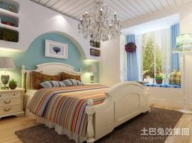 小户型卧室地中海风格装修效果图