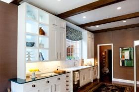 美式厨房装修效果图大全