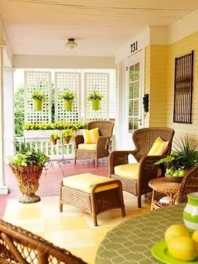 最新东南亚阳台花园设计效果图