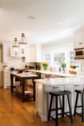 欧式风格厨房装修效果图大全2016图片