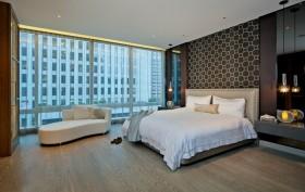 2013现代简约卧室装修效果图