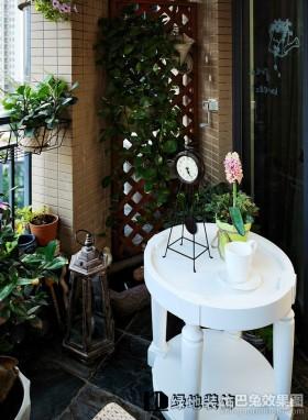 2013最新小阳台花园设计效果图