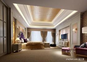 欧式四居主卧室装修效果图