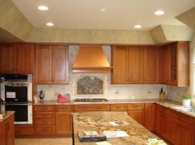 美式厨房橱柜装修效果图片
