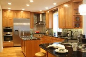 美式风格厨房装修效果图大全