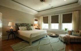 欧式简约主卧室装修设计