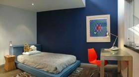 简约风格卧室榻榻米床装修设计