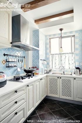 田园风格装修厨房