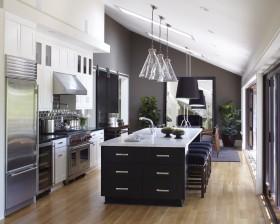 现代阁楼厨房装修效果图