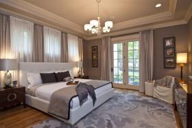 160平米三居卧室装修效果图大全