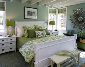 欧式简约小户型卧室装修效果图片