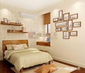 中式二居小卧室装修效果图