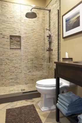 最新现代简约卫生间装修效果图