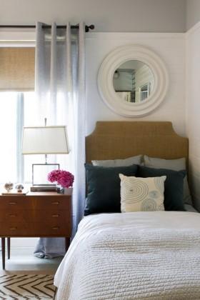 欧式简约小卧室装修效果图