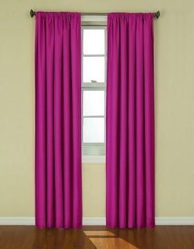 紫色窗帘图片