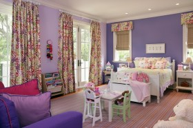 卧室窗帘装修效果图欧式