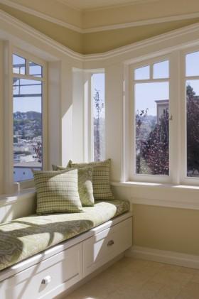 别墅飘窗欧式别墅转角飘窗装修图片