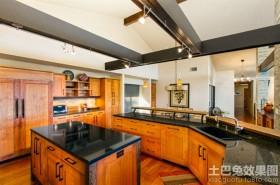 美式家居厨房装修效果图