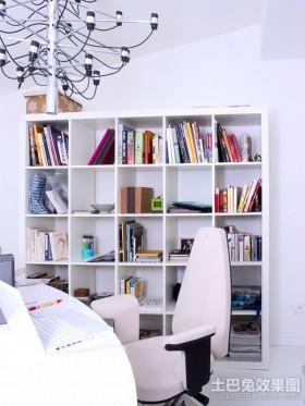 最新简约风格书房装修效果图欣赏