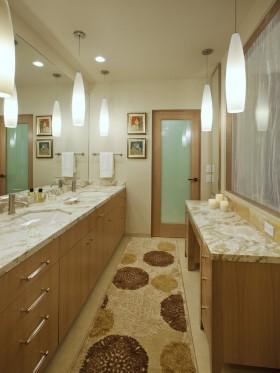 现代卫生间门装修效果图欣赏