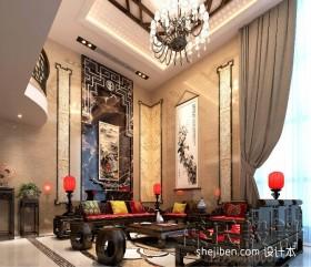 新中式装修效果图客厅