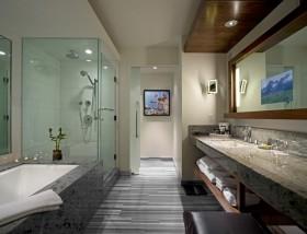 别墅卫生间装修效果图欣赏