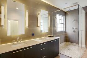 下沉式卫生间瓷砖装修效果图