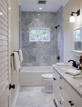 灯具长方形卫生间装修效图