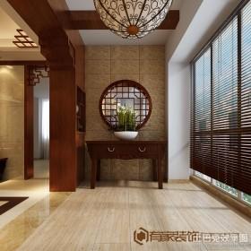 中式室内阳台装修图片