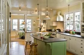 厨房吧台装修设计效果图