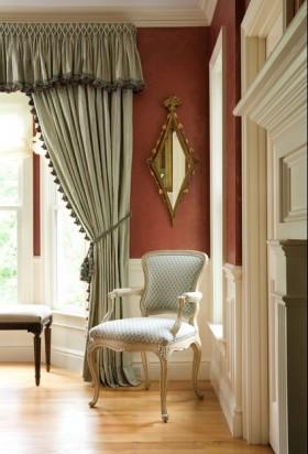 欧式风格窗帘装修效果图大全2015图片