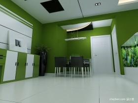 最新现代简约风格餐厅装修效果图