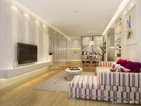 现代简约客厅装饰设计图