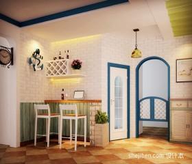 地中海风格装修吧台