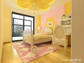 现代简约儿童房吊顶装饰图片