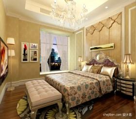 欧式客厅卧室装修图片